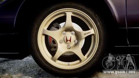 Honda NSX-R NA1 1992 [EPM] para GTA 4 vista hacia atrás