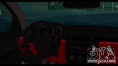 Mazda 3 para GTA San Andreas vista posterior izquierda