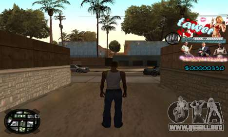 C-HUD Tawer GTA 5 para GTA San Andreas