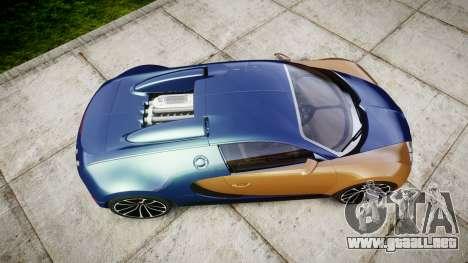 Bugatti Veyron 16.4 v2.0 para GTA 4 visión correcta