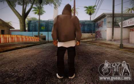 New Fam Skin 3 para GTA San Andreas segunda pantalla