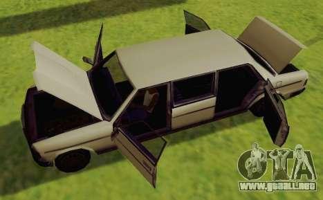 Admiral Limousine para la visión correcta GTA San Andreas