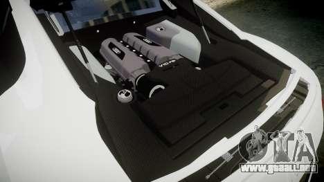 Audi R8 V10 Plus 2014 para GTA 4 vista lateral