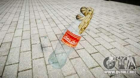 Cóctel Molotov-Nuka Cola para GTA 4 segundos de pantalla