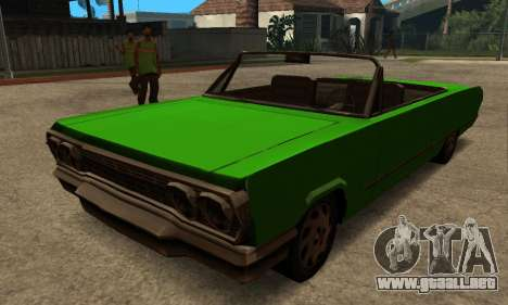 Beta Savanna para GTA San Andreas left