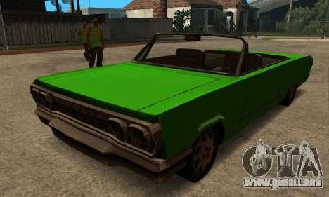 Beta Savanna para GTA San Andreas left