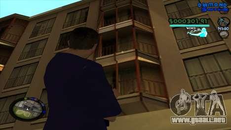 C-HUD Lopez para GTA San Andreas sucesivamente de pantalla