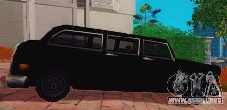 Cabbie Wagon para GTA San Andreas left