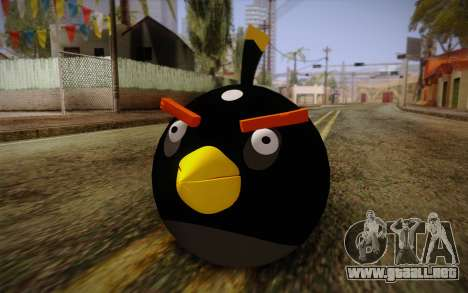 Black Bird from Angry Birds para GTA San Andreas