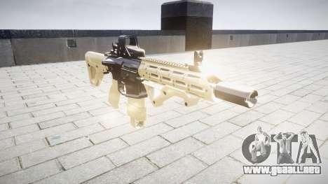 Rifle AR-15 CQB destino typeeotech para GTA 4