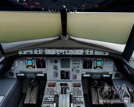 Airbus A320-200 Philippines Airlines para GTA San Andreas interior