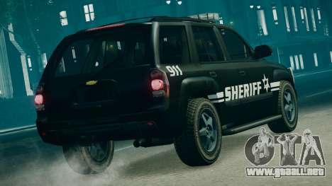 SUV TRBZ para GTA 4 left