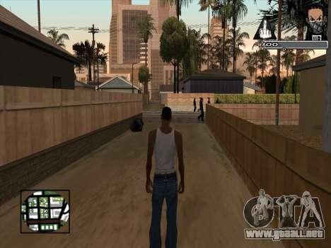 Marusya C-HUD para GTA San Andreas