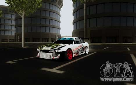 Nissan Silvia S14 VCDT V2.0 para la visión correcta GTA San Andreas