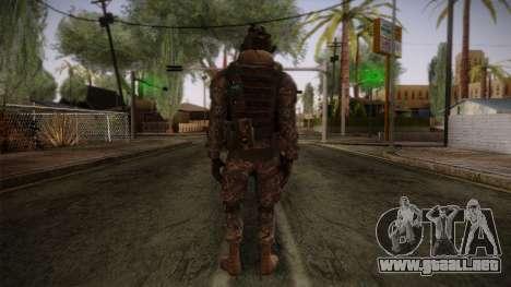 Modern Warfare 2 Skin 5 para GTA San Andreas segunda pantalla