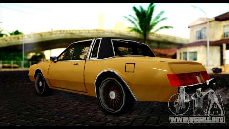 New Majestic para GTA San Andreas left