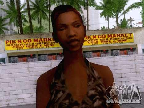 New Ballas Skin 3 para GTA San Andreas tercera pantalla