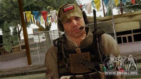 Modern Warfare 2 Skin 16 para GTA San Andreas tercera pantalla