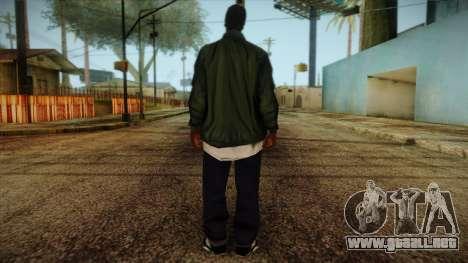 New Ryder Skin para GTA San Andreas segunda pantalla