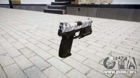La pistola HK USP 45 siberia para GTA 4 segundos de pantalla