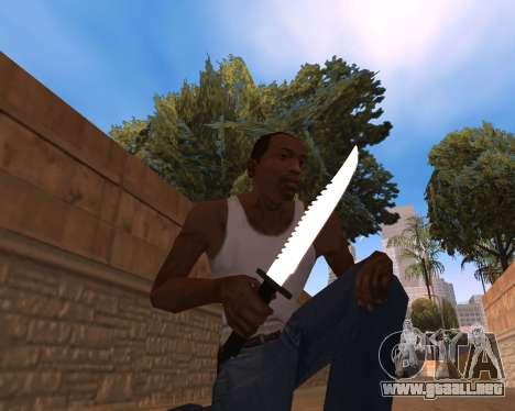 Clear weapon pack para GTA San Andreas