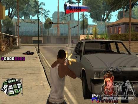 C-HUD RussiA para GTA San Andreas tercera pantalla