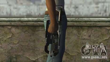 K-Volt from Crysis 3 para GTA San Andreas tercera pantalla