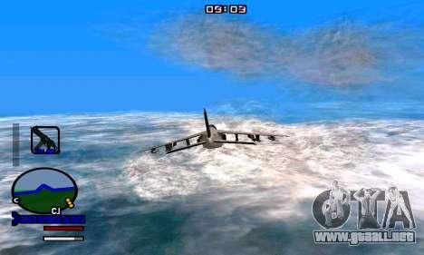 C-HUD Normal para GTA San Andreas tercera pantalla