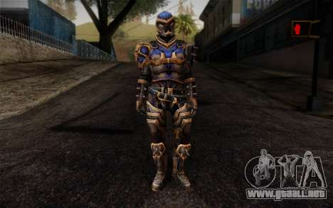 Shepard Reckoner Armor from Mass Effect 3 para GTA San Andreas