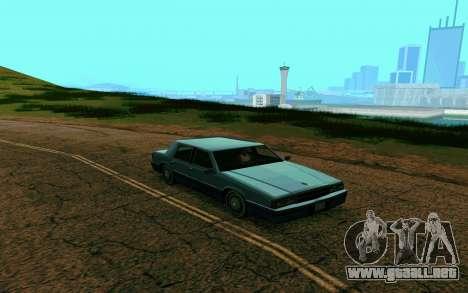 ENB la media y débil PC para GTA San Andreas sucesivamente de pantalla
