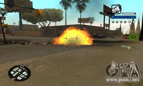 Samaro C-HUD para GTA San Andreas segunda pantalla