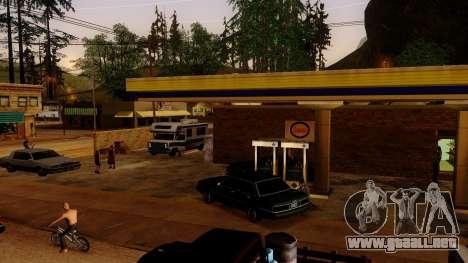 La recuperación de las estaciones de Los Santos para GTA San Andreas sucesivamente de pantalla