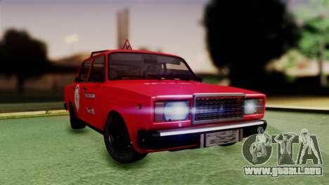 VAZ 2107 Auto Escuela para GTA San Andreas
