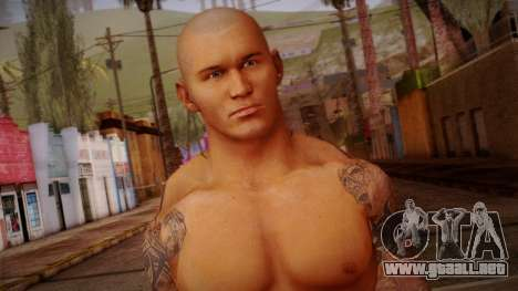 Randy Orton from Smackdown Vs Raw para GTA San Andreas tercera pantalla