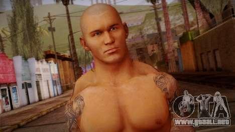 Randy Orton from Smackdown Vs Raw para GTA San Andreas tercera pantalla