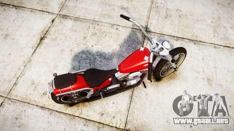 Western Motorcycle Company Daemon para GTA 4 visión correcta