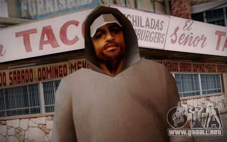New Fam Skin 3 para GTA San Andreas tercera pantalla