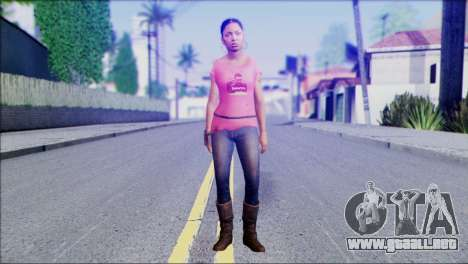 Left 4 Dead Survivor 5 para GTA San Andreas