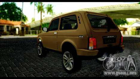 Lada 4x4 Urban para GTA San Andreas left