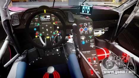 Ferrari 458 GT2 para GTA 4 vista interior