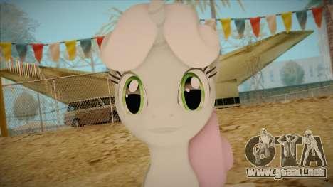 Sweetiebelle from My Little Pony para GTA San Andreas tercera pantalla