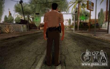 Alex Shepherd From Silent Hill Police para GTA San Andreas segunda pantalla