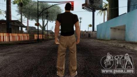 LCN Skin 2 para GTA San Andreas segunda pantalla