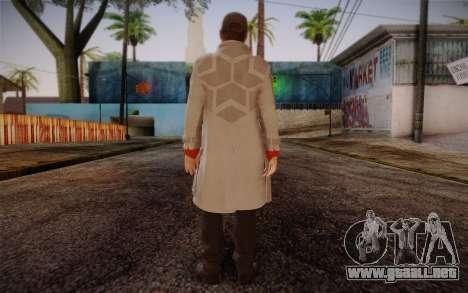 Aiden Pearce from Watch Dogs v7 para GTA San Andreas segunda pantalla