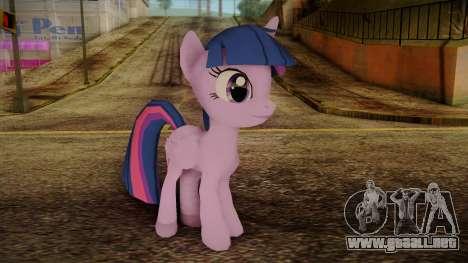 Twilight Sparkle from My Little Pony para GTA San Andreas