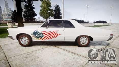 Pontiac GTO 1965 united para GTA 4 left