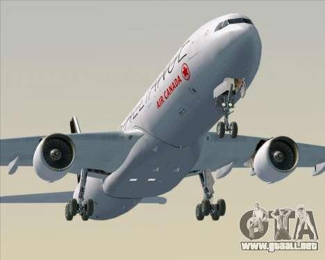 Airbus A330-300 Air Canada Star Alliance Livery para el motor de GTA San Andreas