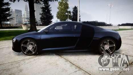 Audi R8 plus 2013 HRE rims para GTA 4 left