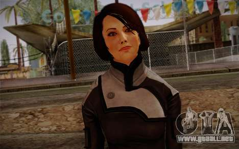 Ann Bryson from Mass Effect 3 para GTA San Andreas tercera pantalla