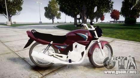 Yamaha YBR 125 para GTA 4 left